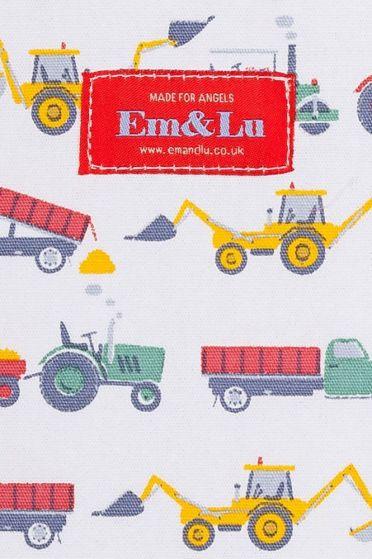 Tractor Colour Sponge Bag