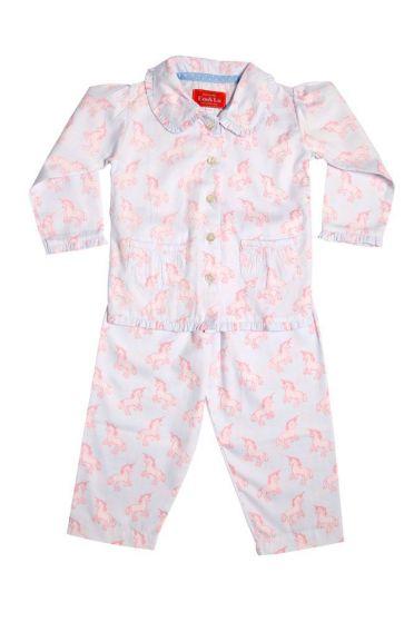 Unicorn Frill Collar Pyjama