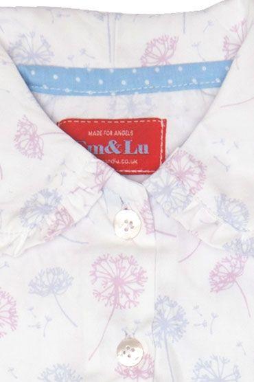 Dandelion Frill Collar Pyjama Collar
