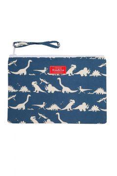 Dinosaur Blue Sponge Bag