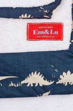 Dinosaur Blue Towel Collection