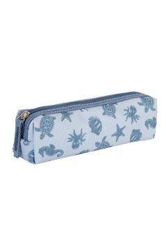 Ocean Blue Pencil Case