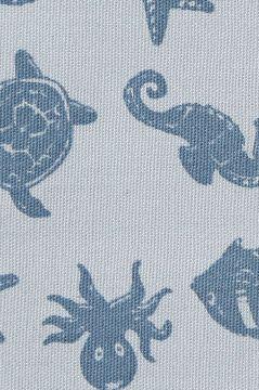 Ocean Blue Sponge Bag