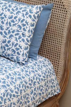 Safari Blue Duvet Cover