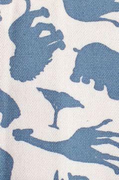Safari Blue Sponge Bag