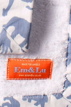 Safari Blue Towel Collection