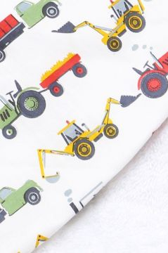 Tractor Colour Hooded Towel