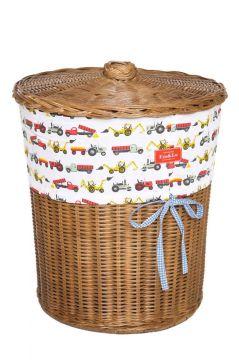 Tractor Colour Laundry Basket