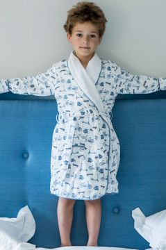 Bicycle Colour Dressing Gown