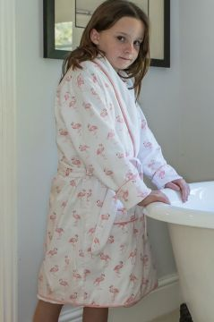Flamingo Dressing Gown