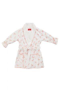 Em&Lu Pink Flamingo Dressing Gown
