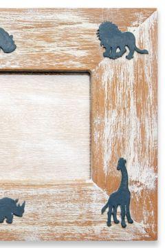Safari Blue Photo Frame Detail
