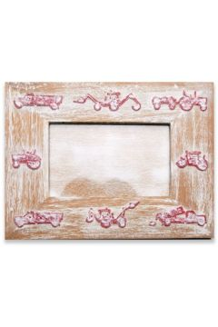 Tractor Red Photo Frame