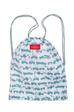 Tractor Green String Bag