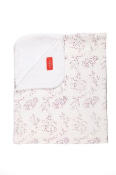 Lilac Blossom Towelling Blanket