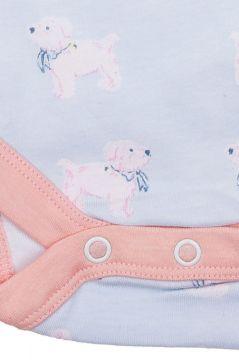 Dog Sleeveless Baby Vest