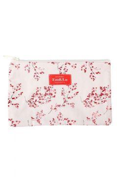 Red Blossom Sponge Bag